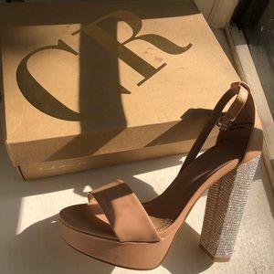 Sequins Heel